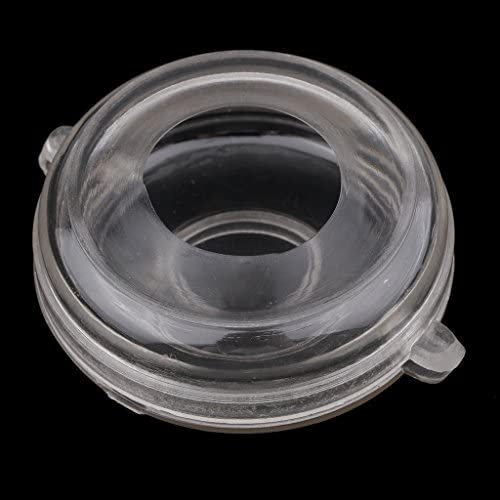dailymall 丸い形クリアプラスチックキャンドル型キャンドル作り石鹸型専用のデザインDIYフローティングキャンドル無香料ディスクキャンドルクラフト