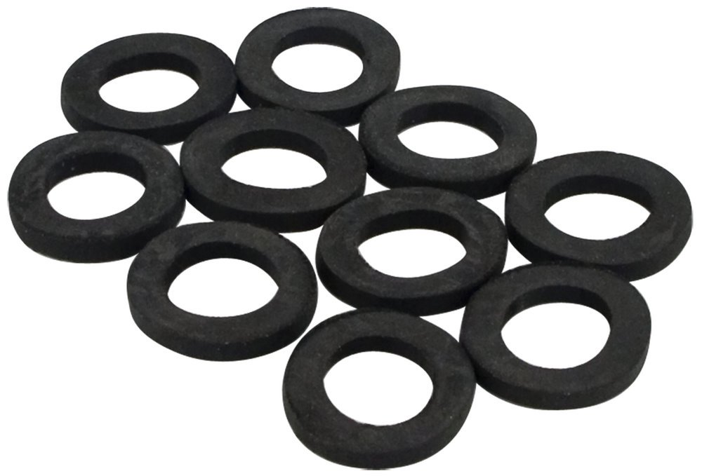 6 Pack Lincoln 100220 Regular Duty Rubber Hose Washers - 10 per Package