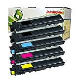 5 Pack ink4work© Compatible Brother TN221 TN225 TN-221 TN-225 Toner Cartridge Combo For Brother HL-3140CW, HL-3150CDN, HL-3170CDW, MFC-9130CW, MFC-9330CDW, MFC-9340CDW