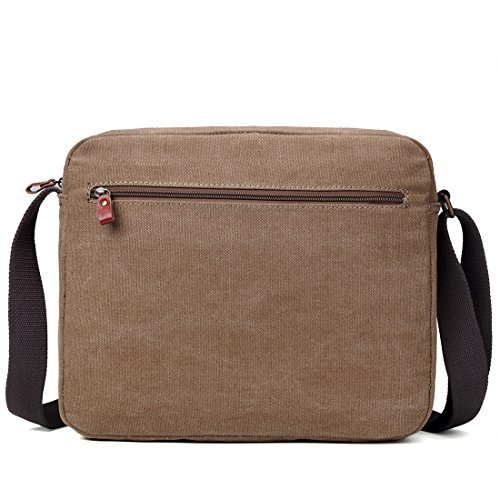 Troop London Classic Borsa Messenger in Tela - Adatta a Tablet TRP0391