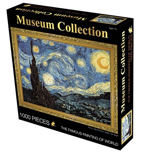 Museum Collection 1000-Piece Vincent Van Gogh The Starry Night Jigsaw Puzzle 63152-4