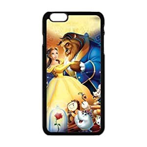 ROBIN YAM- Disney Movie Beauty and the Beast Princess Belle Hard Protective Rubber Case for iPhone 6 Plus 6+ 6Plus (5.5 inch) -ERY633