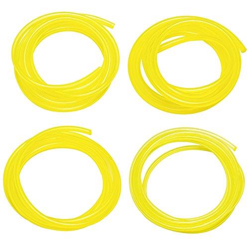 PAXCOO 20 Feet Petrol Fuel Line Hose Tubing with Different Size for Chainsaw and Common 2 Cycle Small Engines
