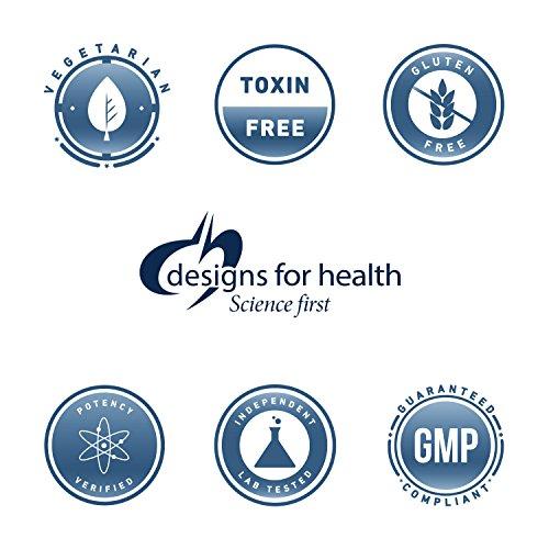 Designs for Health Glycerophosphocholine Vegetarian Capsules, 300 mg, 60 Count
