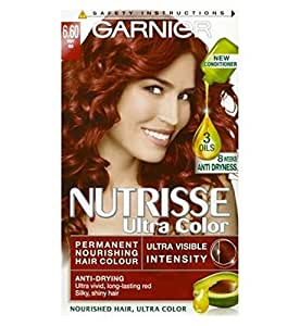Amazon.com : Garnier Nutrisse Ultra Permanent Colour 6.60 ...