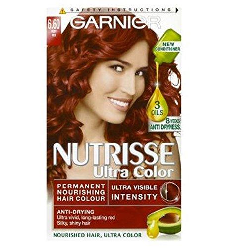 Garnier Nutrisse Ultra Permanent Colour 6.60 Fiery Red -