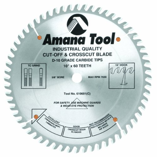 Amana Tool - 610601 Carbide Tipped Heavy Duty General Purpose 10