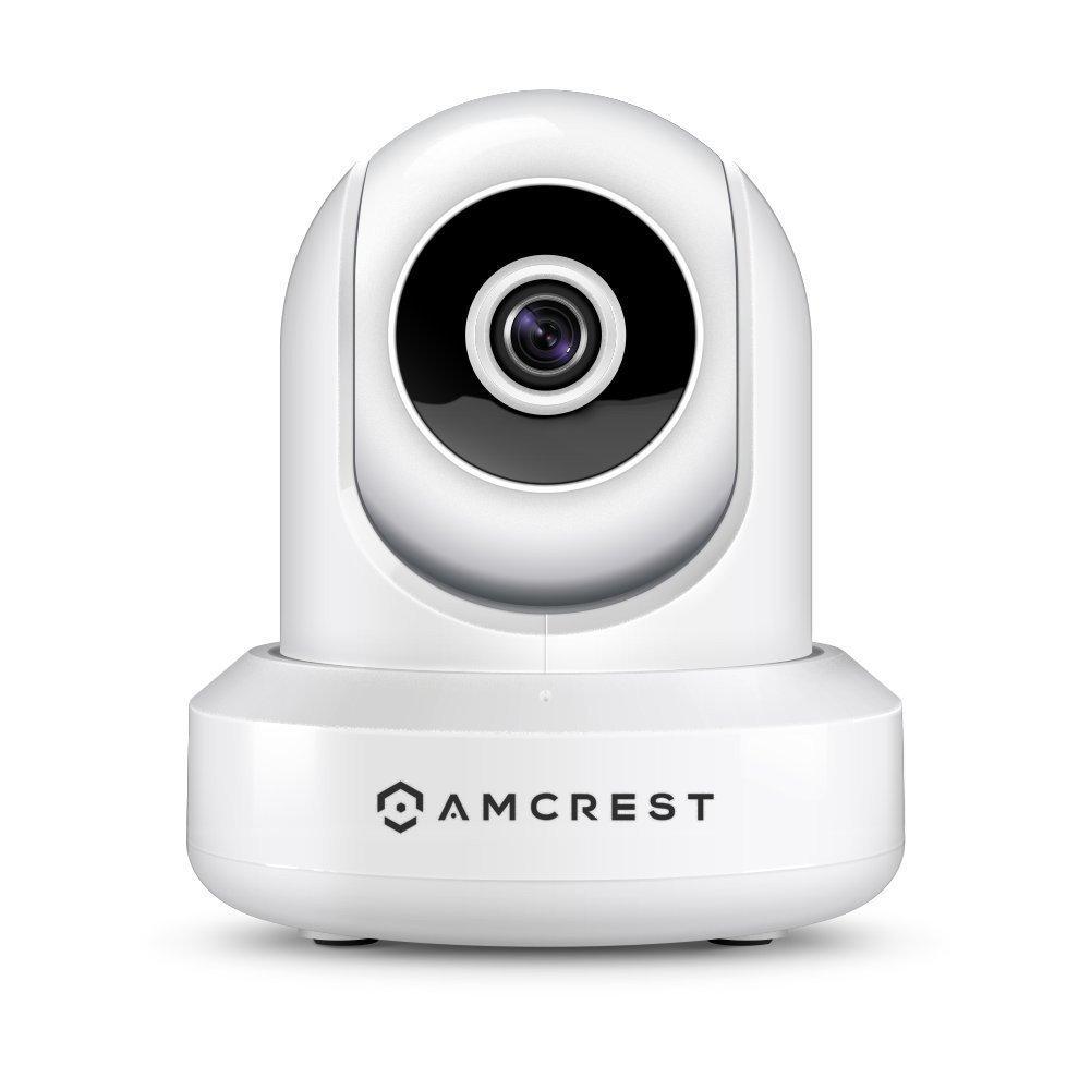Amcrest IP2M-841 ProHD 1080P (1920TVL) Wireless WiFi IP Camera, White (Certified Refurbished)