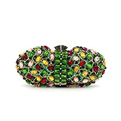 Elegant Clutch Studded With Large Stones