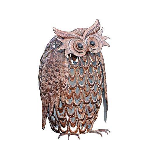Smart Solar Silhouette Giant Owl by Smart Solar by Smart Solar
