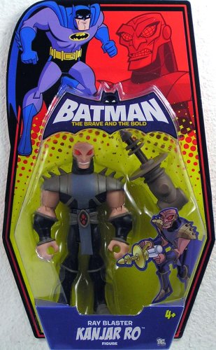 Batman Brave and the Bold Action Figure Kanjar Ro (Ray Blaster) (Plastic Man Batman Brave And The Bold)