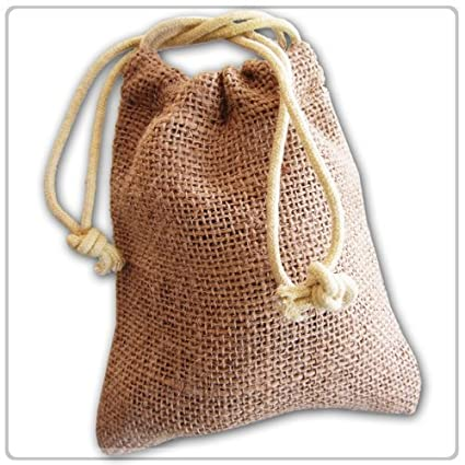 New Burlap Favor Gift Bags With Drawstring 3 X 5