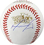 David Ortiz Boston Red Sox Autographed World Series Logo Baseball - Fanatics Authentic Certified - Autographed Baseballs