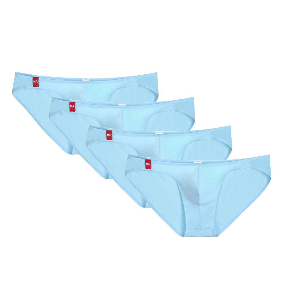 MASS21 Men's Super Breathable Modal Low Rise Skinny Underwear Briefs M60008