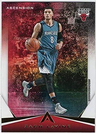 428a80f9a Amazon.com  2017-18 Panini Ascension Basketball  32 Zach LaVine ...