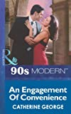 Front cover for the book An Engagement of Convenience by Catherine George