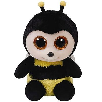 Ty Beanie Boos Buzby The Bumblebee Plush Toys 6\'\' Plush: Toys & Games [5Bkhe0205625]