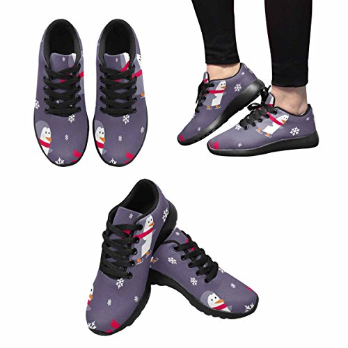 Scarpa Da Jogging Leggera Da Donna Running Running Leggera Easy Go Walking Comfort Sportivo Scarpe Da Ginnastica Merry Christmas Multi 1