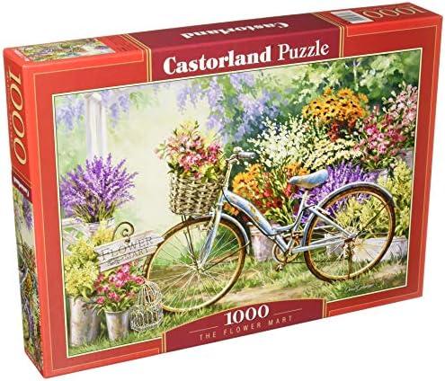 Castorland Jigsaw 1000 pc-The Flower Mart, Multicolor (5904438103898): Amazon.es: Juguetes y juegos