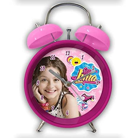 Soy Luna Soy Reloj Despertador (Suncity SLA302268)