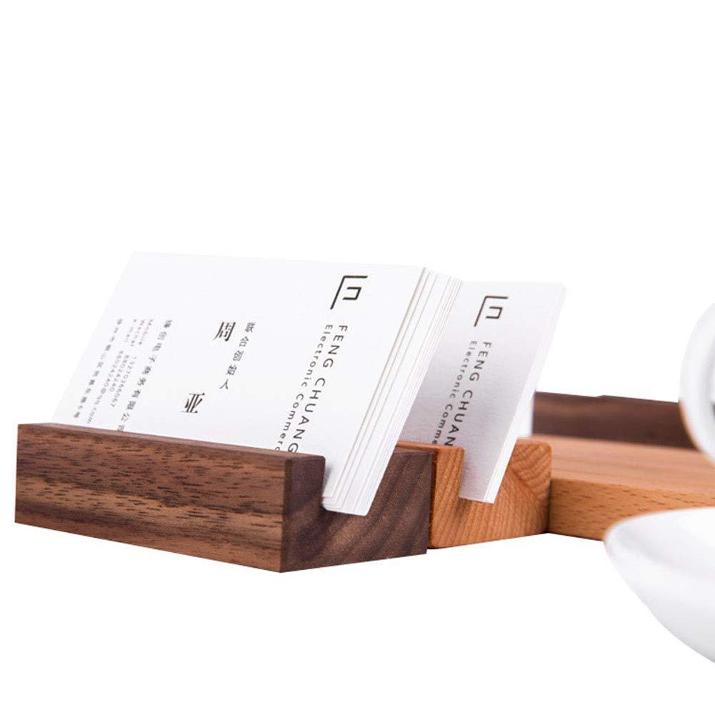 Kartenhalter Office Business Memo Clips Craft Name Dinner Party Foto Zahlen Display Holz Schreibtisch Organizer St/änder Dekoration Free Size 2