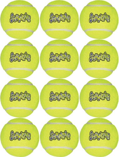 Kong Air Dog Squeaker Ball XL 12pk