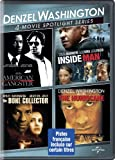 Denzel Washington 4-Movie Spotlight Series (American Gangster / Inside Man / The Bone Collector / The Hurricane) (Bilingual)
