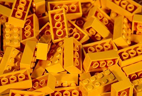Imex 2x4 Stud Pumpkin Compatible Bricks,