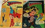 #8: 8 Superman Super Girl / Super Chica Comics Espanol Buen Estado 1980s
