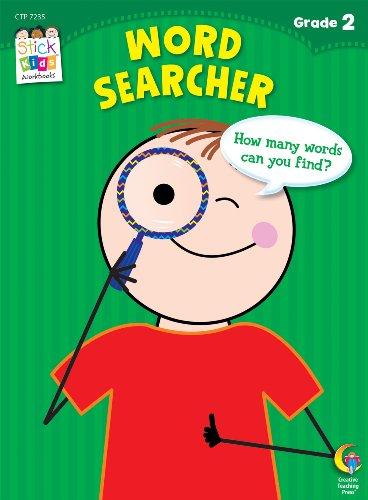 Word Search Stick Kids Workbook, Grade 2 (Stick Kids Workbooks)