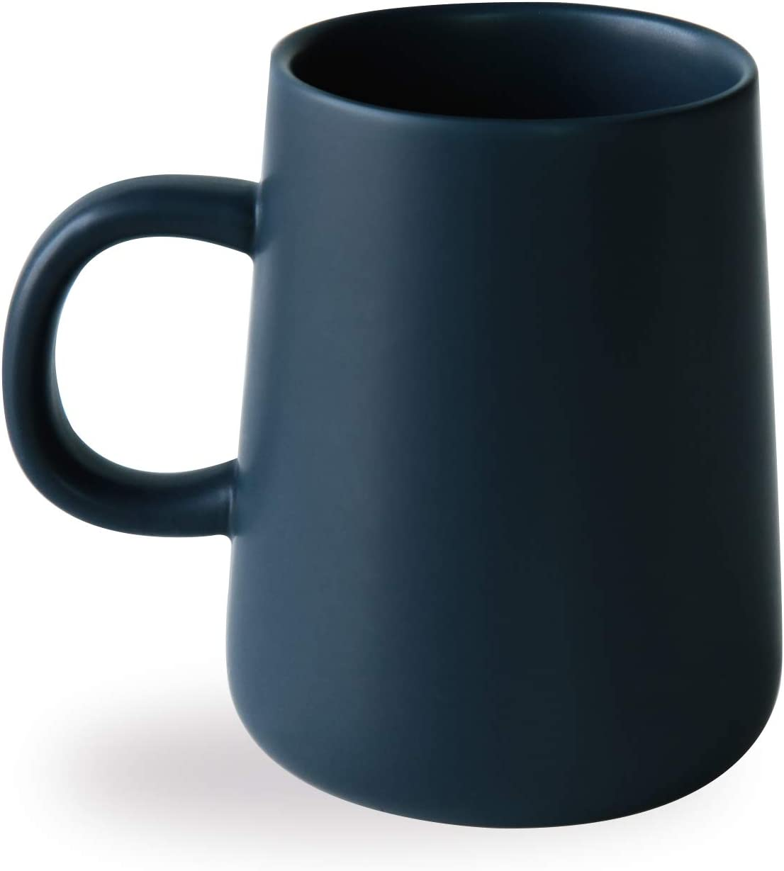 Arraden Coffee Mug, Matte Ceramic Coffee Cup, Both Hot & Cold Beverage Tea Cup for Office & Home, Suitable for Dishwasher & Microwave & Oven, 16.5 oz (Royal Blue)