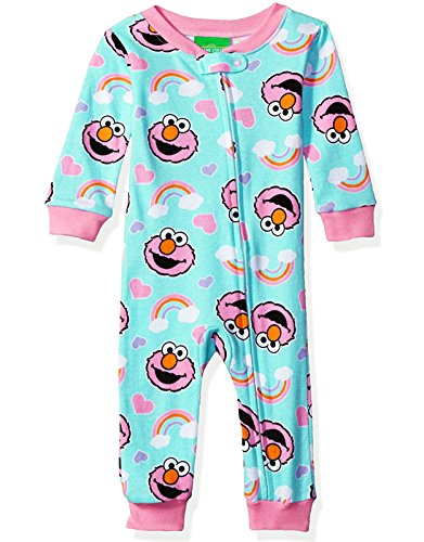 Sesame Street Girls Sleeper Pajamas