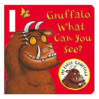 book cover of Gruffalo, What Can You See?