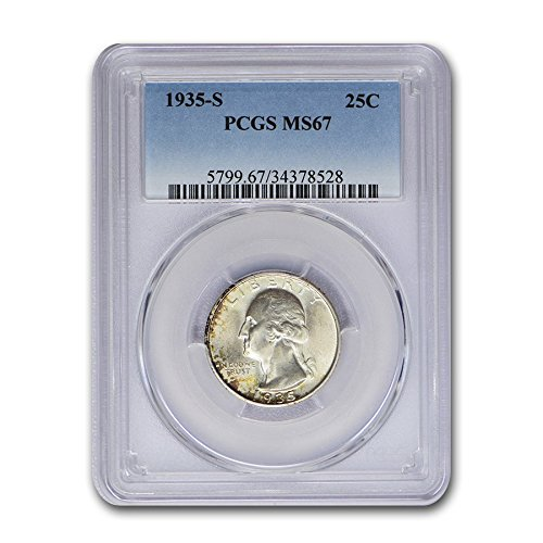 1935 S Washington Quarter MS-67 PCGS Quarter MS-67 PCGS