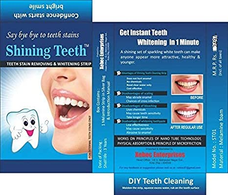 Shining Teeth Tooth Cleaning Strip -1 Strip