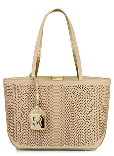 sr-squared-by-sondra-roberts-bag-in-a-bag-python-perf-saffiano-tote-bag-nude