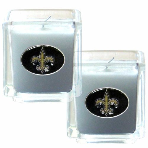 Nfl Candle - NFL New Orleans Saints Candle Set