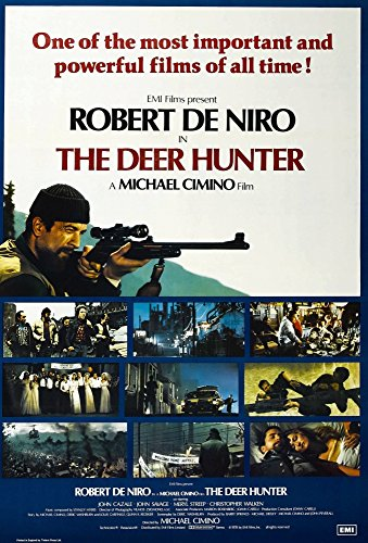 Posterazzi The Deer Hunter British Robert De NIRO (Top Left) 1978 Universal/Courtesy Everett Collection Movie Masterprint Poster Print (11 x 17) ()
