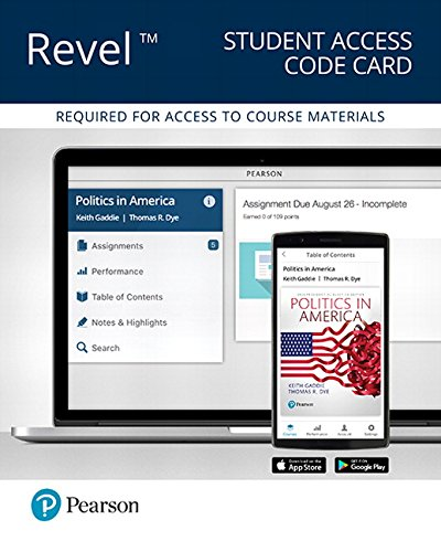 REVEL for Politics in America,  2016 Presidential Election -- Access Card (11th Edition)