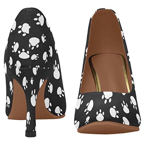 Zapatos De La Bomba Del Vestido Del Alto Talón De La Moda Clásica De Interestprint Para Mujer Multi 7