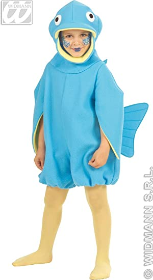 Fish Kids Costume 3-4 years