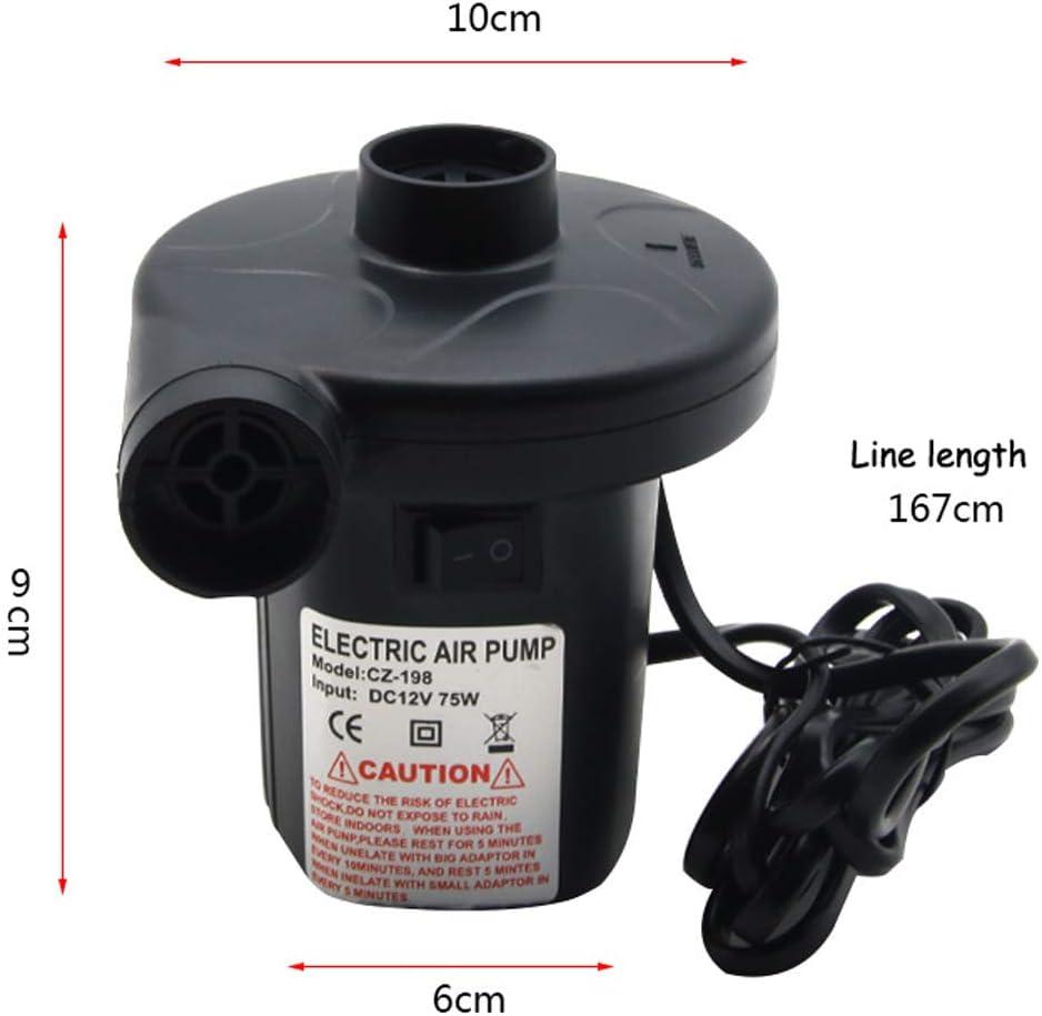 Mayyou Bomba de Aire el/éctrico para Piscina de Remo Fast Inflador Deflator Camp Air Bed Colch/ón