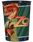 Zootopia 16oz Plastic Favor Cup