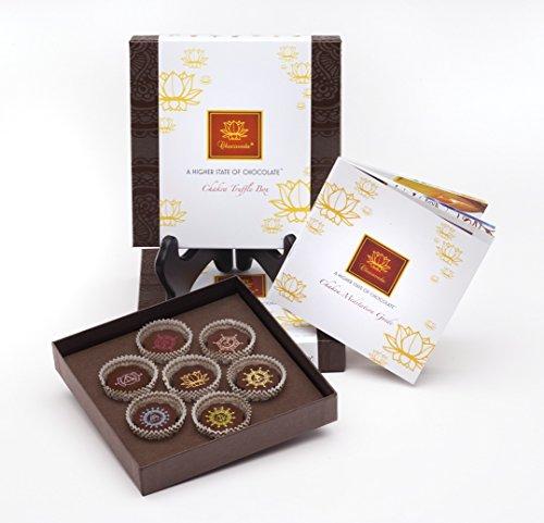 Chocolate Vegan Truffles (Ayurvedic Chakra Vegan Chocolate Truffles - Box of Seven Truffles)