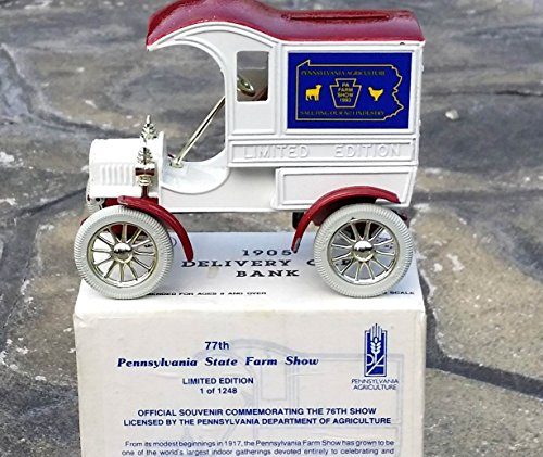 ertl-pennsylvania-1993-pa-state-farm-show-1905-ford-truck-bank-in-125-scale-diecast-metal