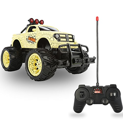 QuadPro NX5 Remote Control Car, 2WD 1:20 Scale Monster Truck Rc Cars for Kids, Off Road Vehicle Toys for Boys and Girls -