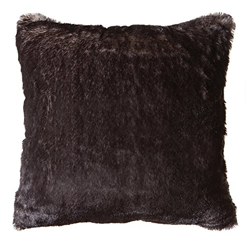 Faux Fur Throw Pillow 18