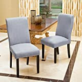 Christopher Knight Home 295175 Corbin Dining Chair (Set of 2), Grey