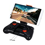 Taslar™ Mocute Wireless Game Controller Phone Gamepad for Android smartphones iPad TV / PC Controller 3D VR Headset Remote Control Bluetooth Joystick,(Black)