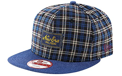 Snapback Den plaid 9fifty navy